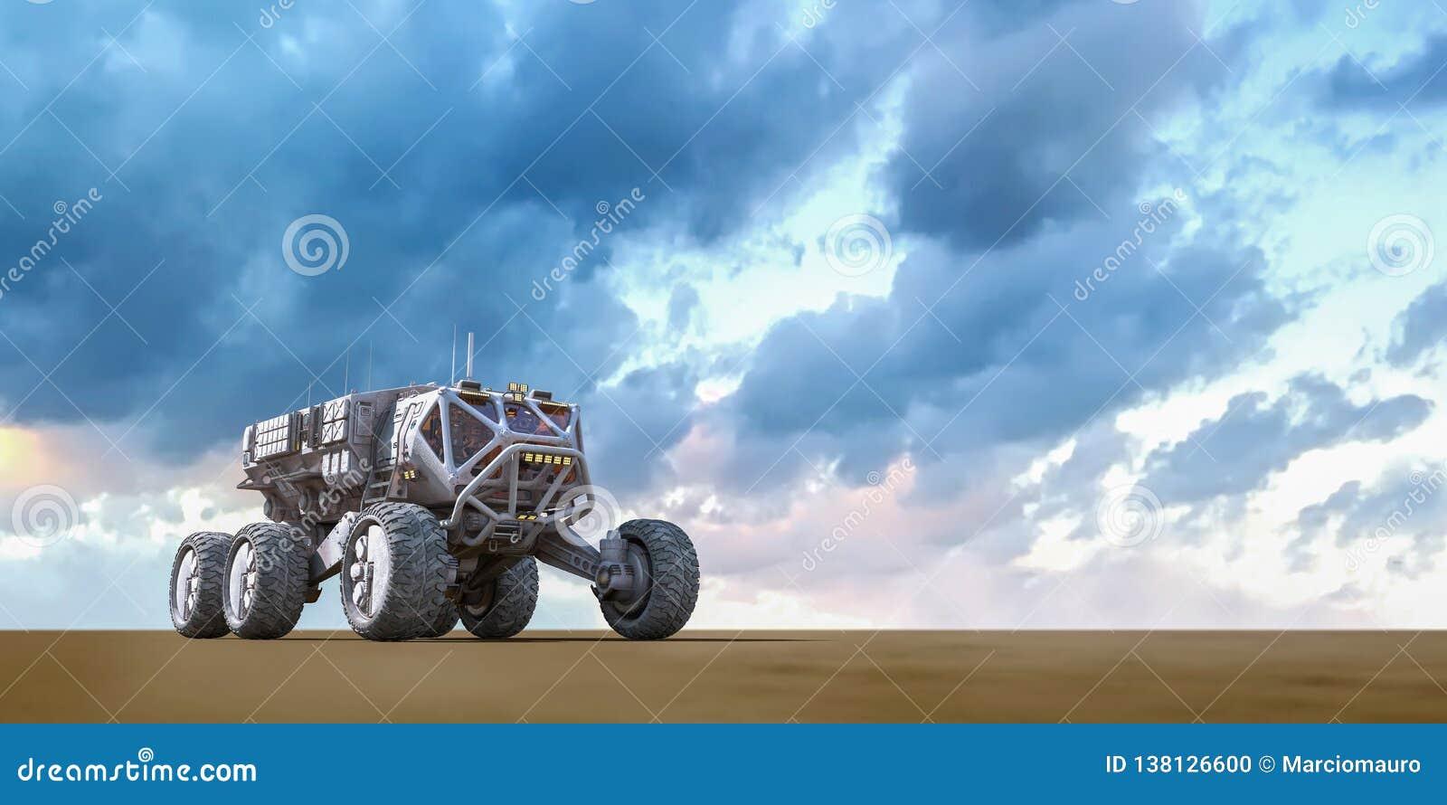 Force terrestre explorant