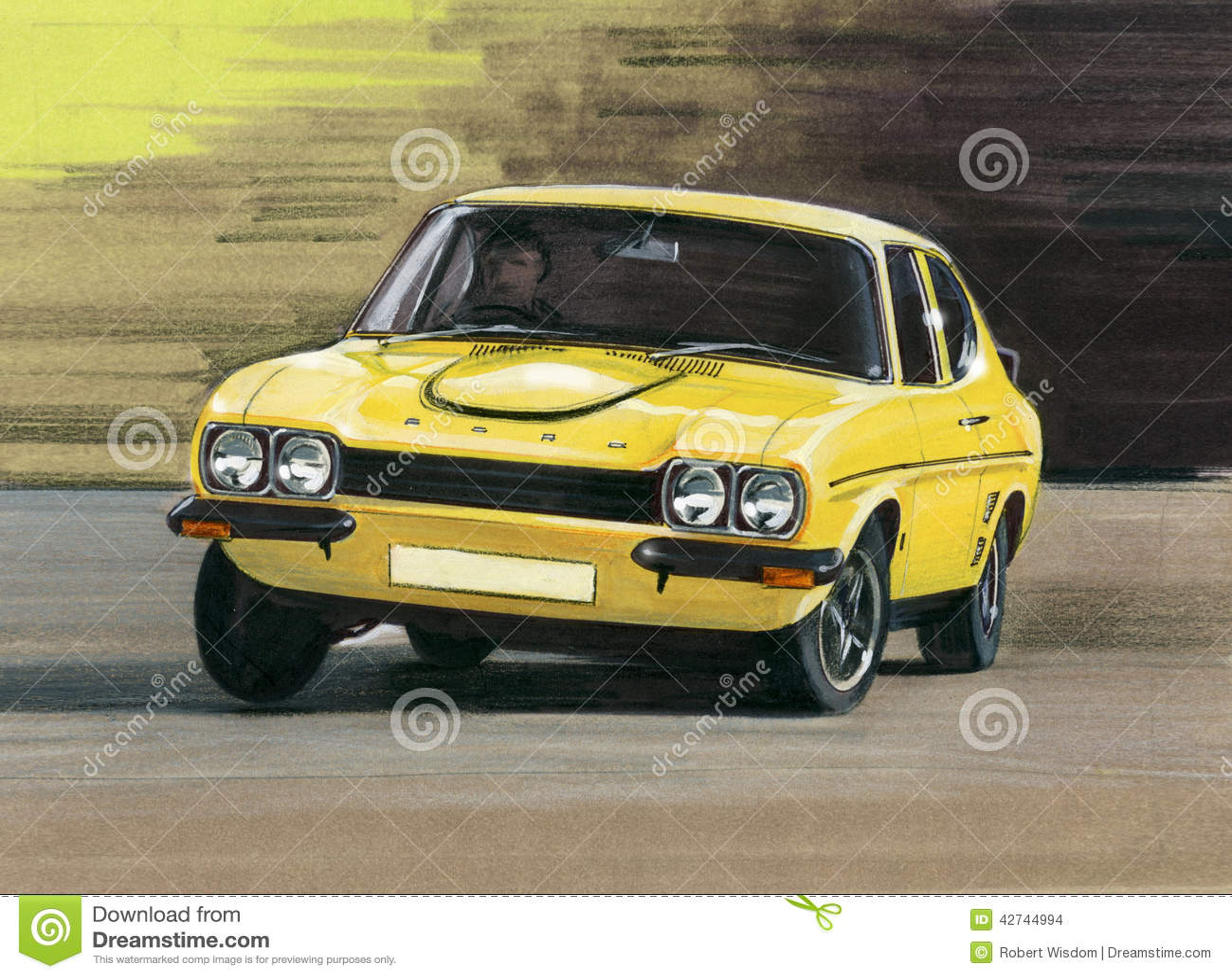 Ford Capri Mk1 RS3100