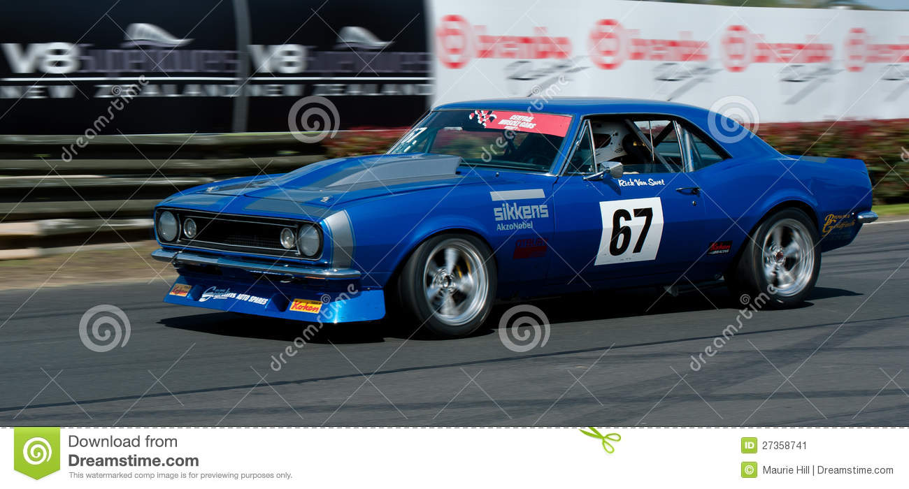 Ford Cobra Muscle Car Racing Editorial Photo Image