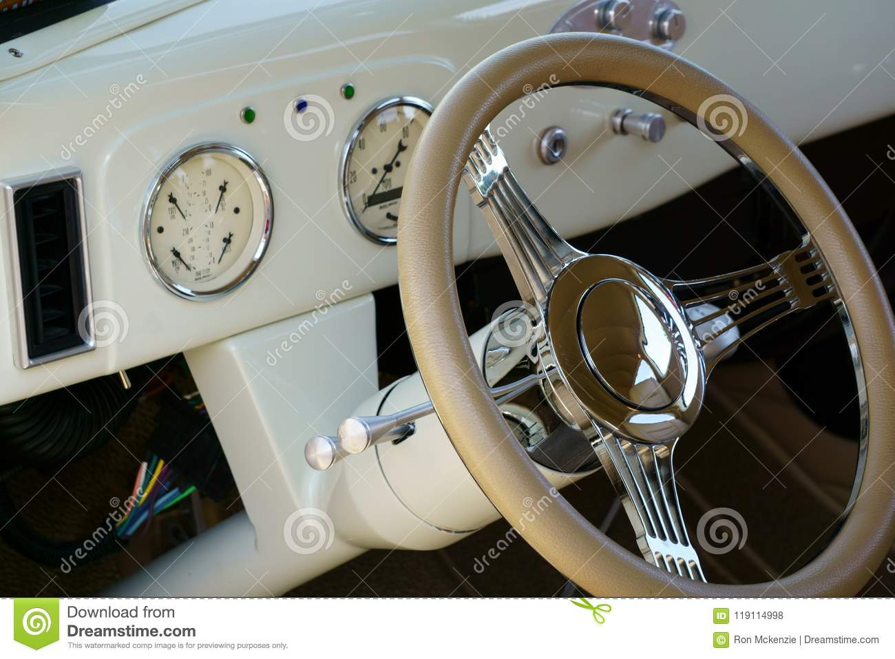 1937 Ford Coupe Dash Editorial Stock Photo Image Of Tires 119114998
