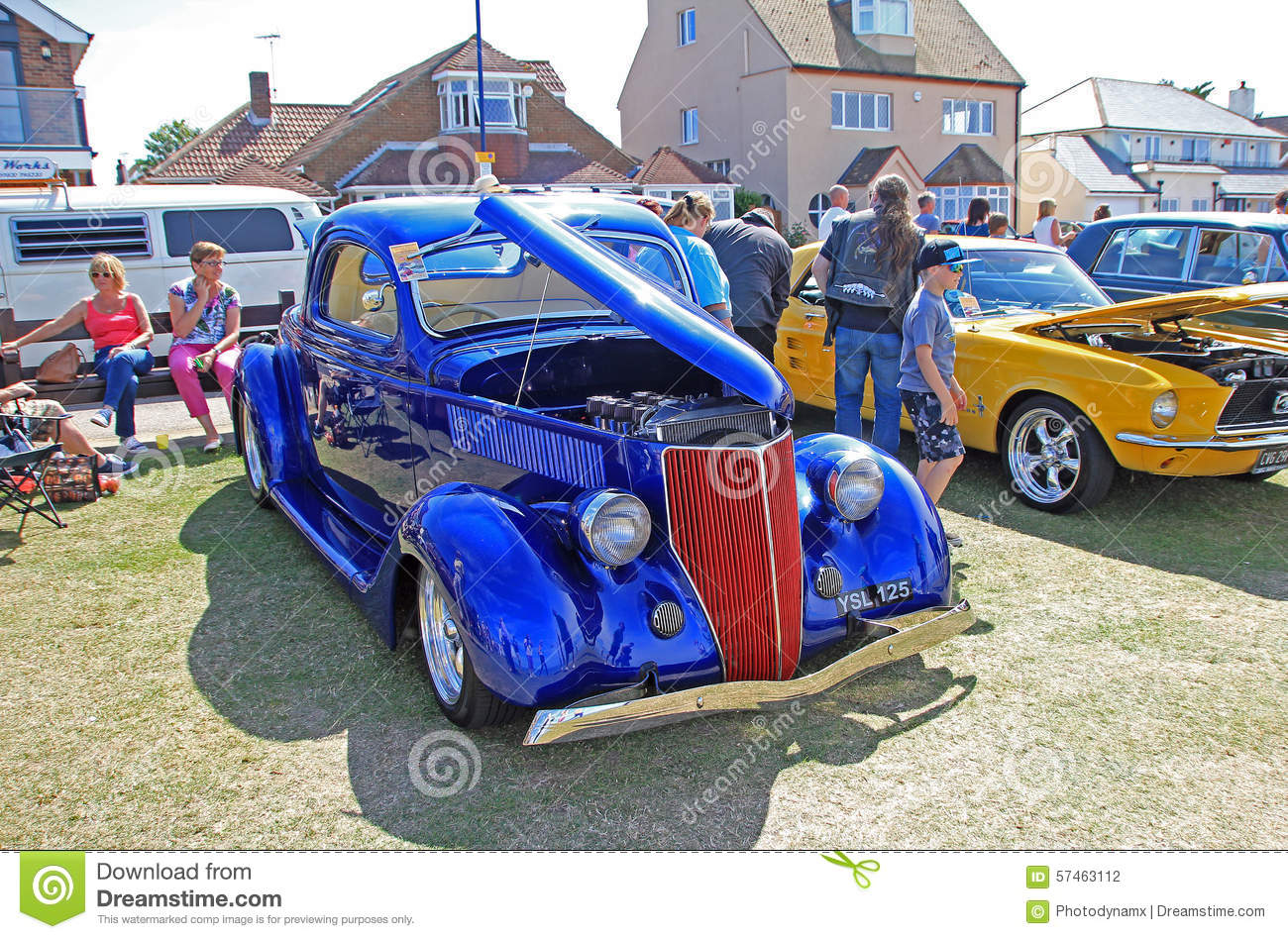 Ford Customised Classic Vintage Car Editorial Photography Image Of - Ideal classic cars car show