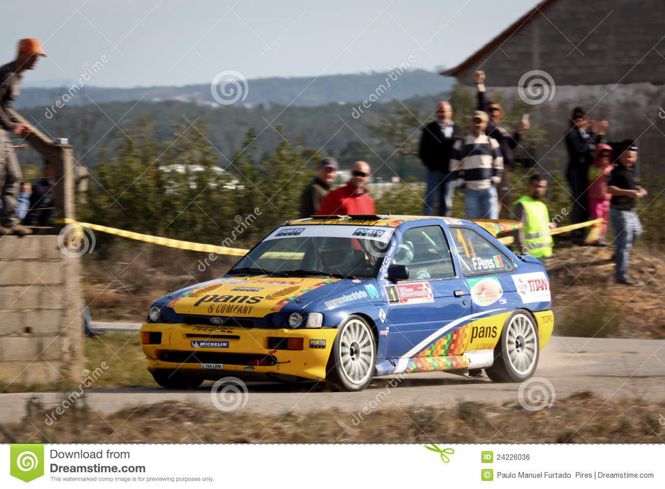 Editorial Stock Photo & Ford Escort Cosworth During Portuguese Open Rally Editorial Photo ... markmcfarlin.com