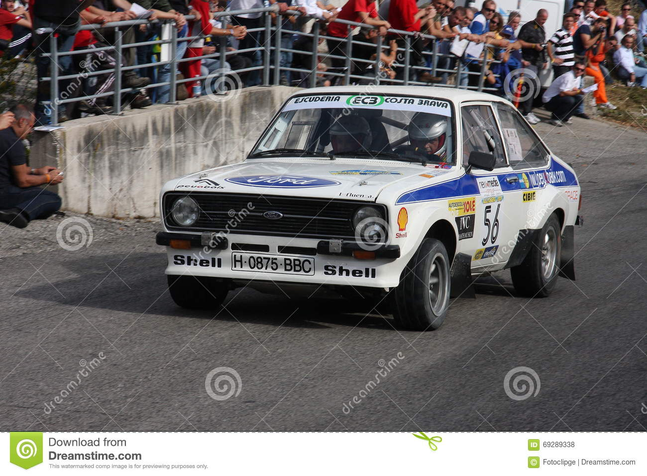 Ford escort Mk2 editorial stock photo. Image of rally - 69289338