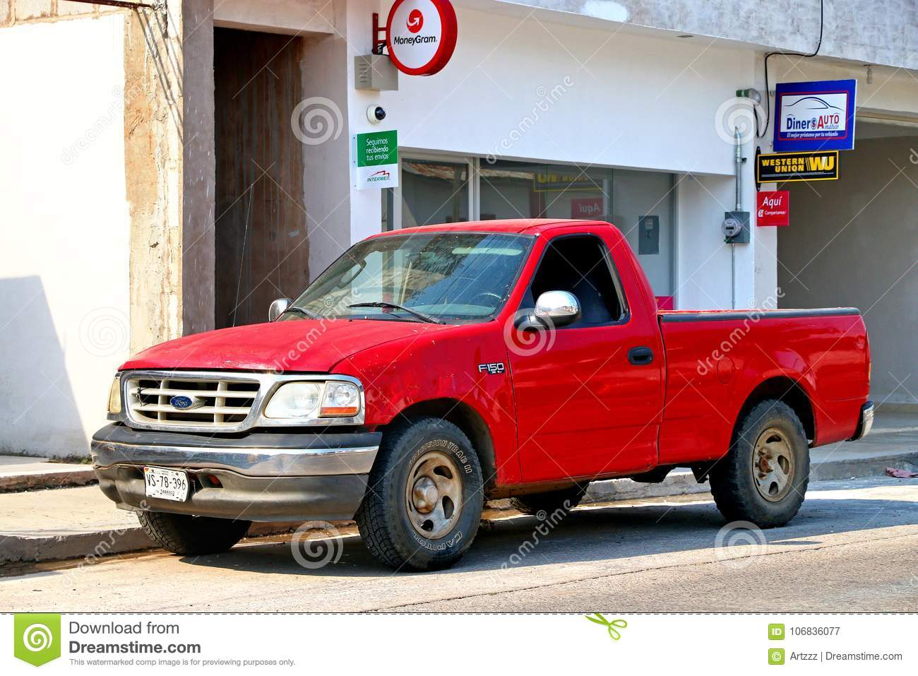 Ford F 150 Editorial Photography Image Of Pickup Carry 106836077 1955 F100 With Mickey Thompsons