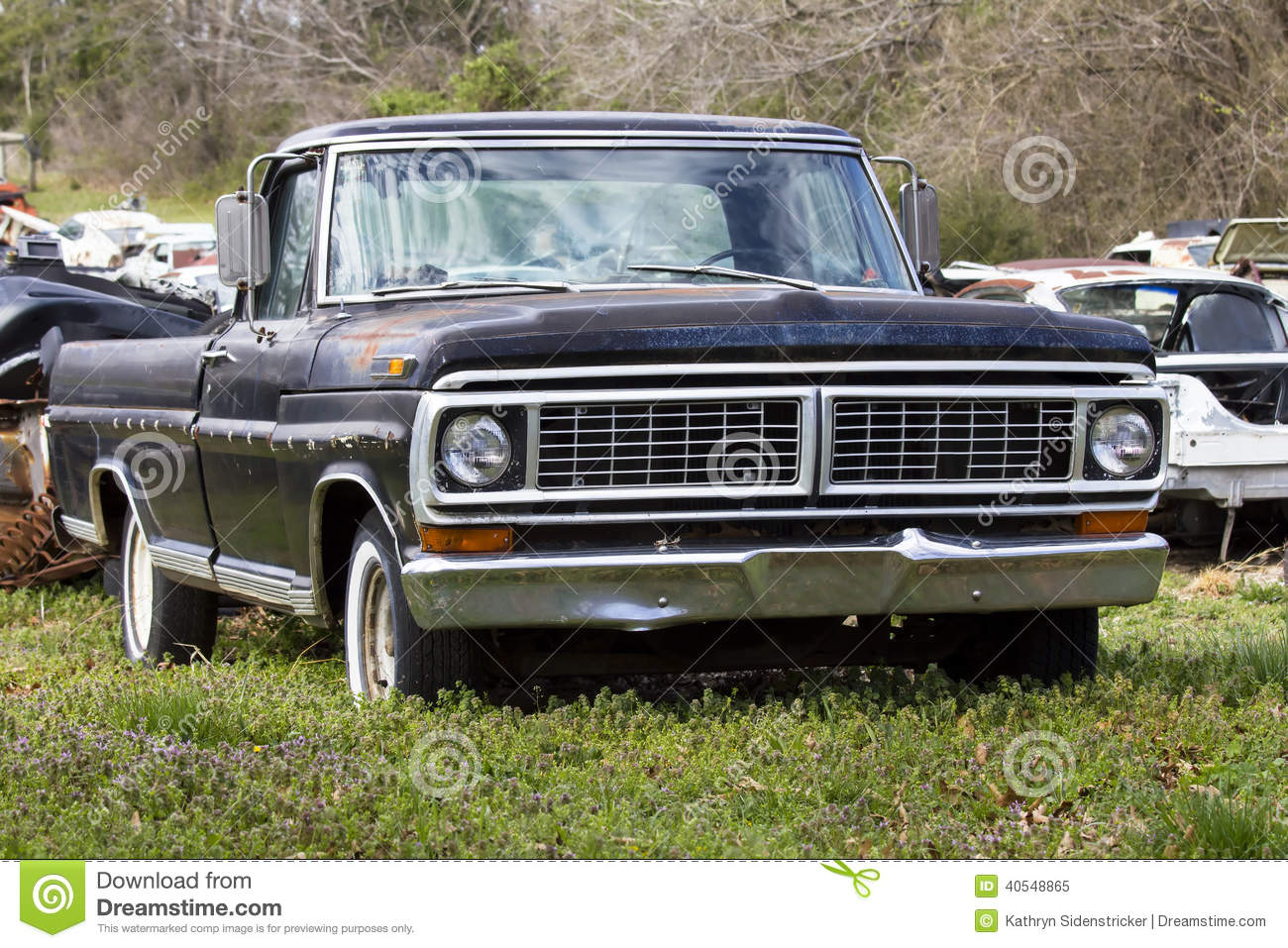 1970 Ford F 150 Pickup Truck Stock Image Image 40548865