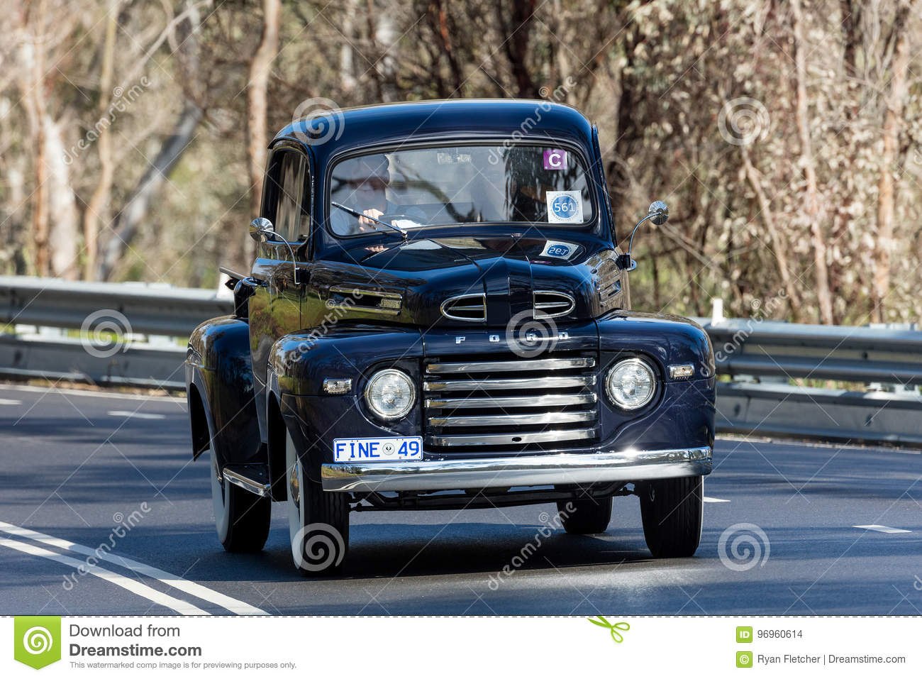 1949 Ford F1 Utility Pickup Truck Editorial Stock Image Of