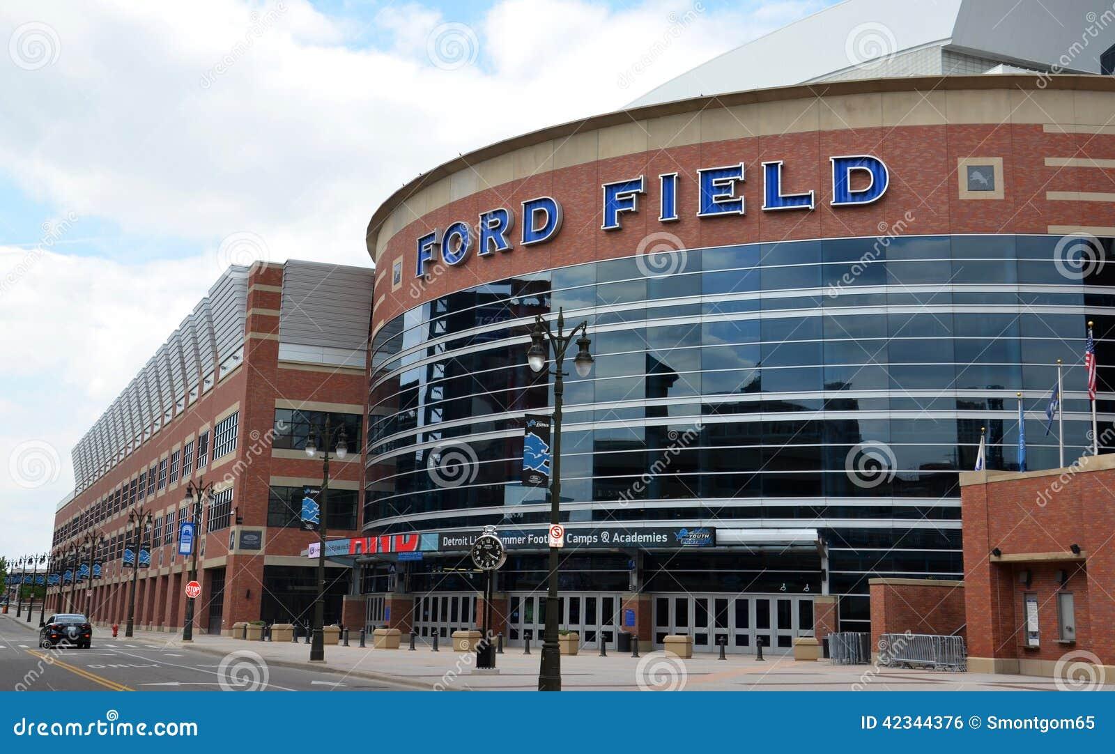 Ford Field en Detroit, MI