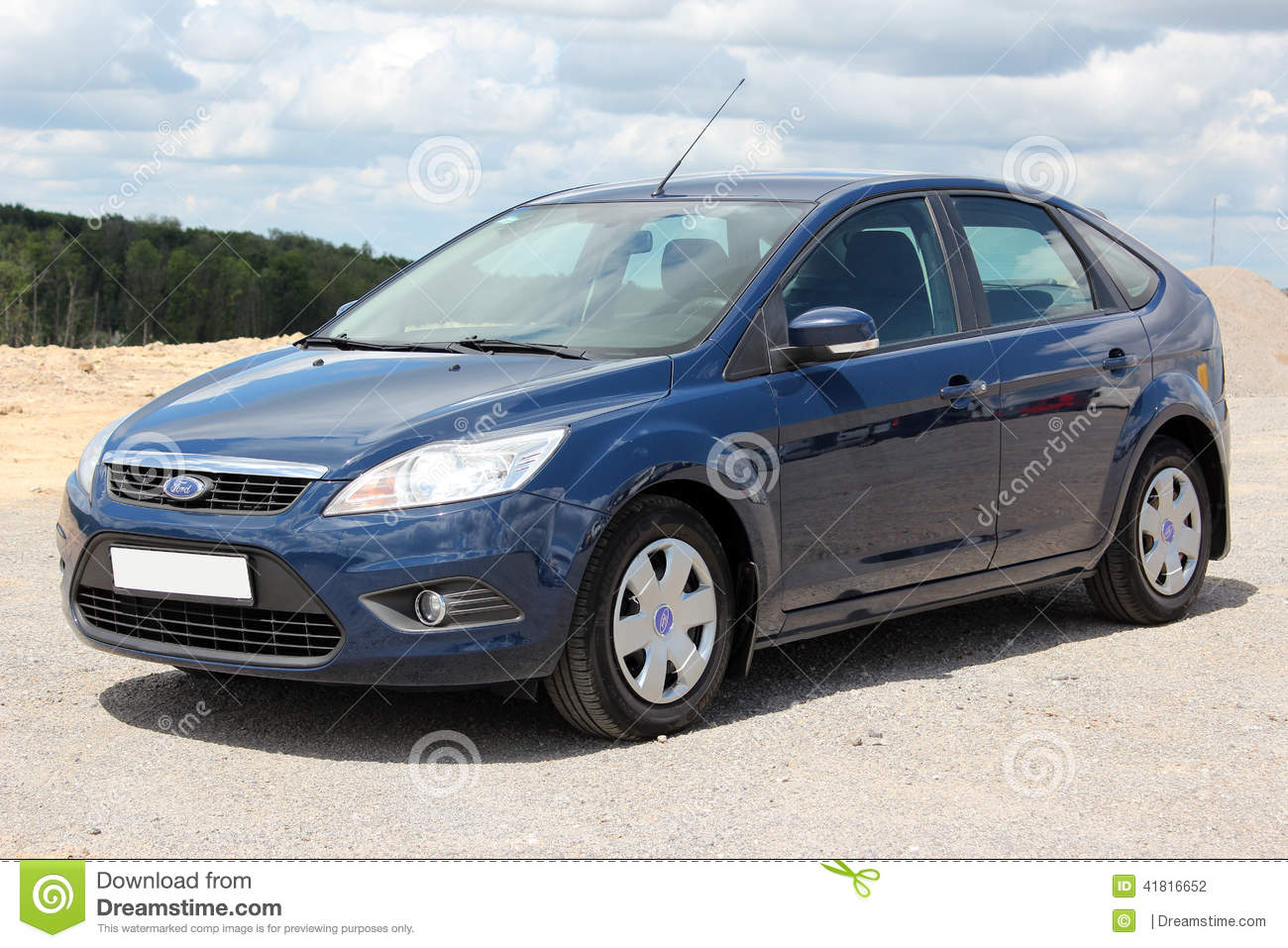Ford focus 2008 blue