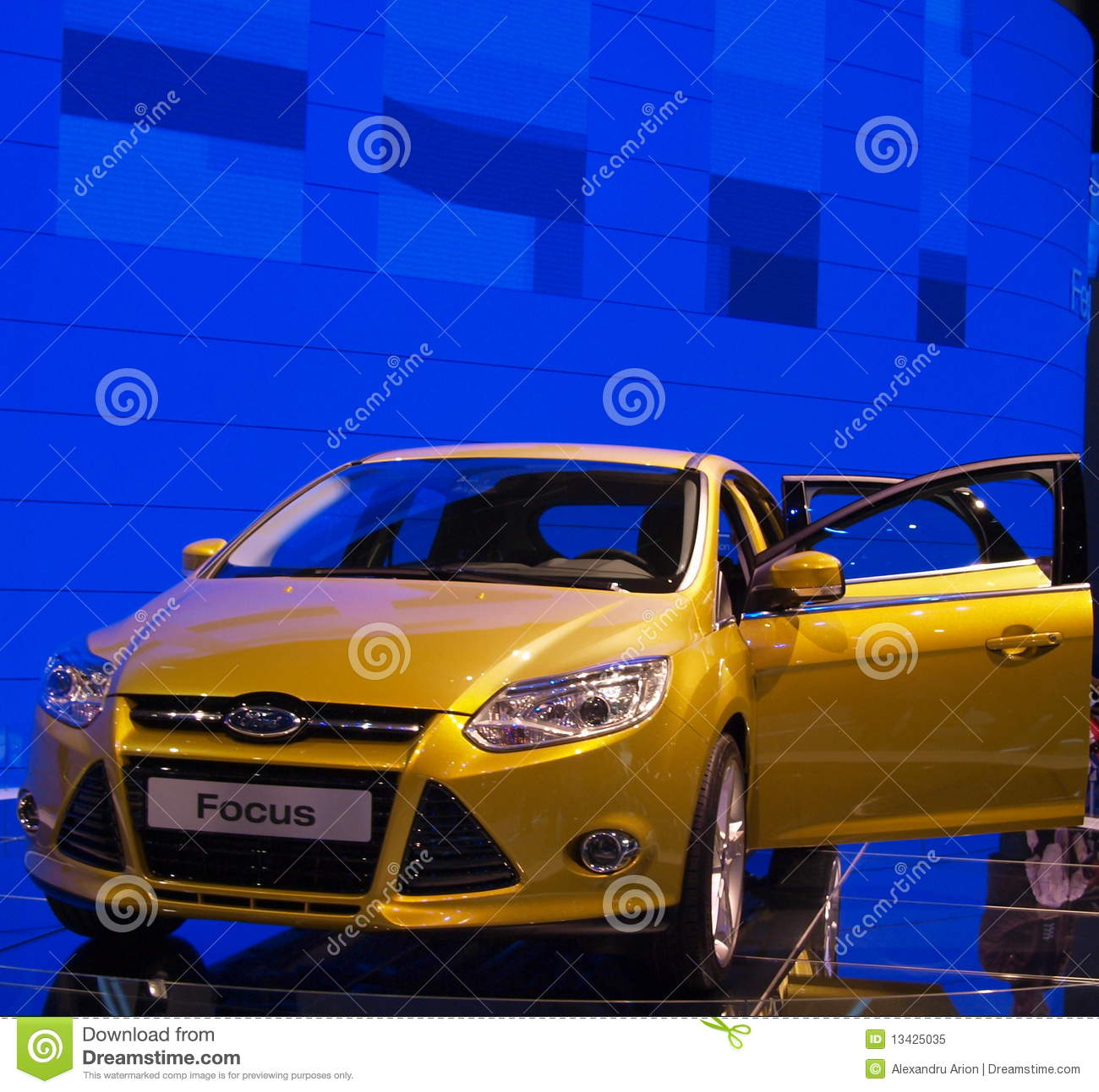Ford Focus At The Geneva International Motor Show