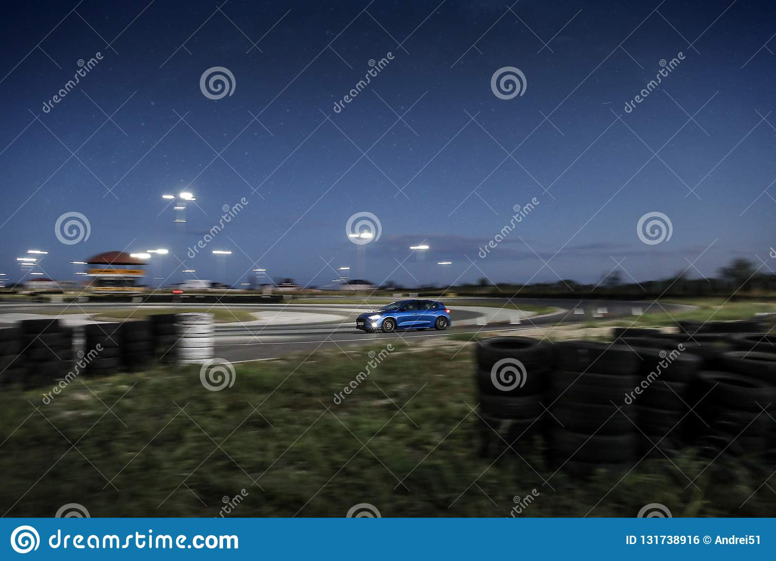 Ford Focus op spoor