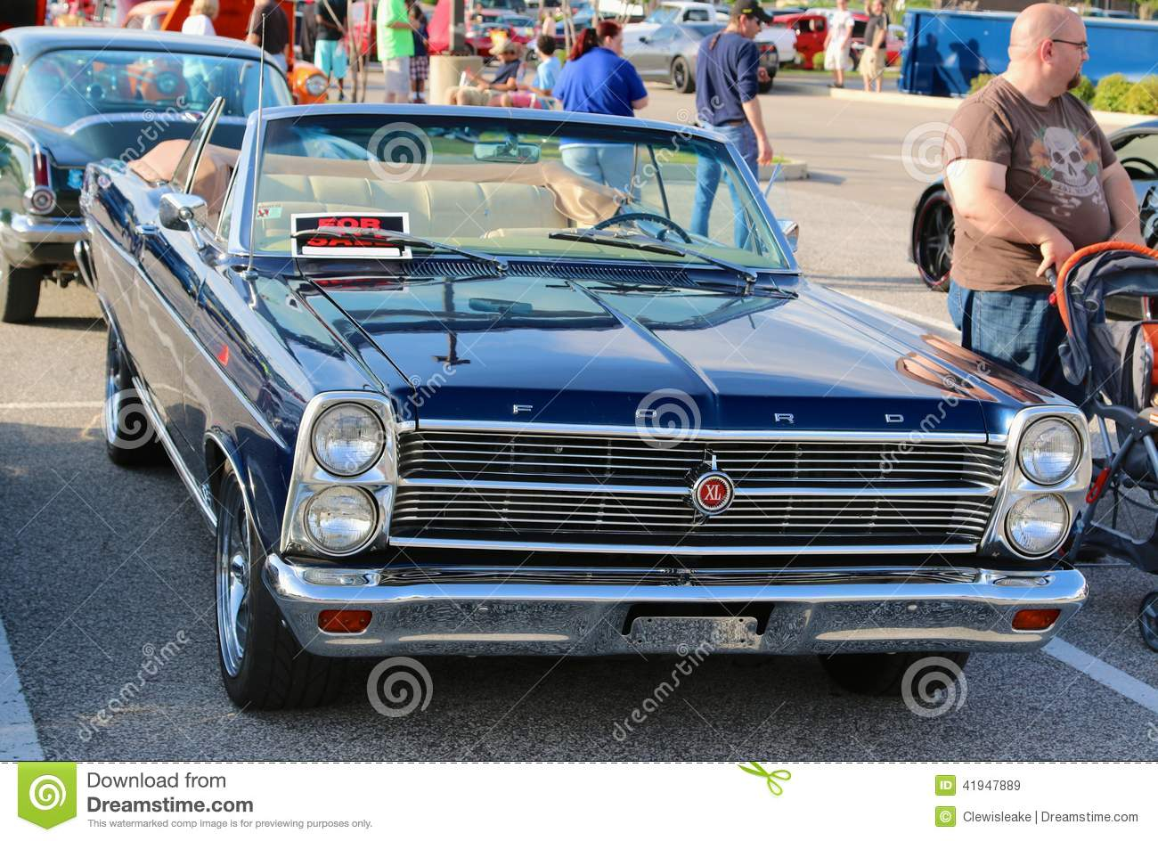 1967 Ford Galaxie 500 Xl Convertible Editorial Stock Image