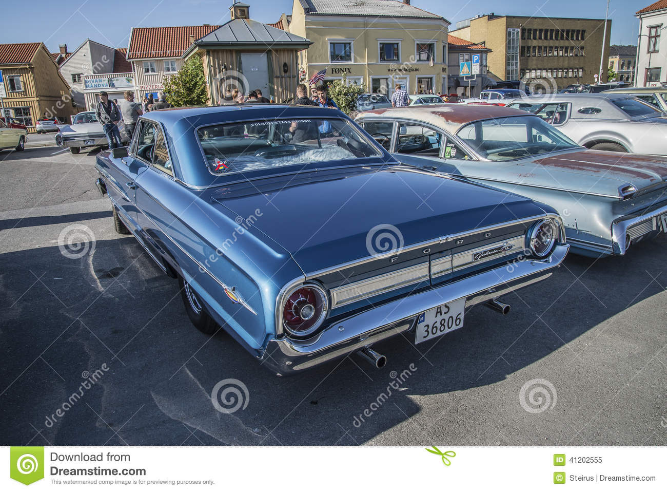 1964 Ford Galaxie 500 Xl 2-door Hardtop Editorial Image - Image of ...