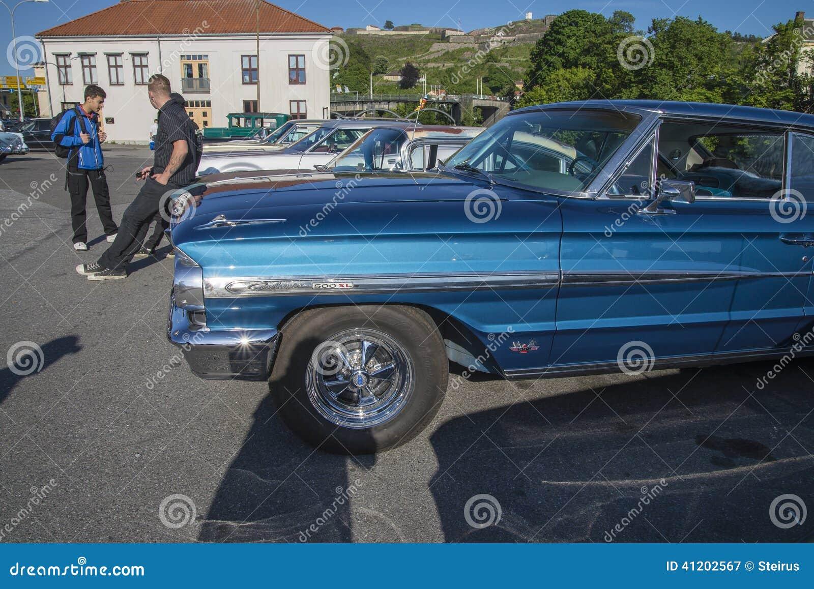 1964 Ford Galaxie 500 Xl 2 Door Hardtop Editorial Photography