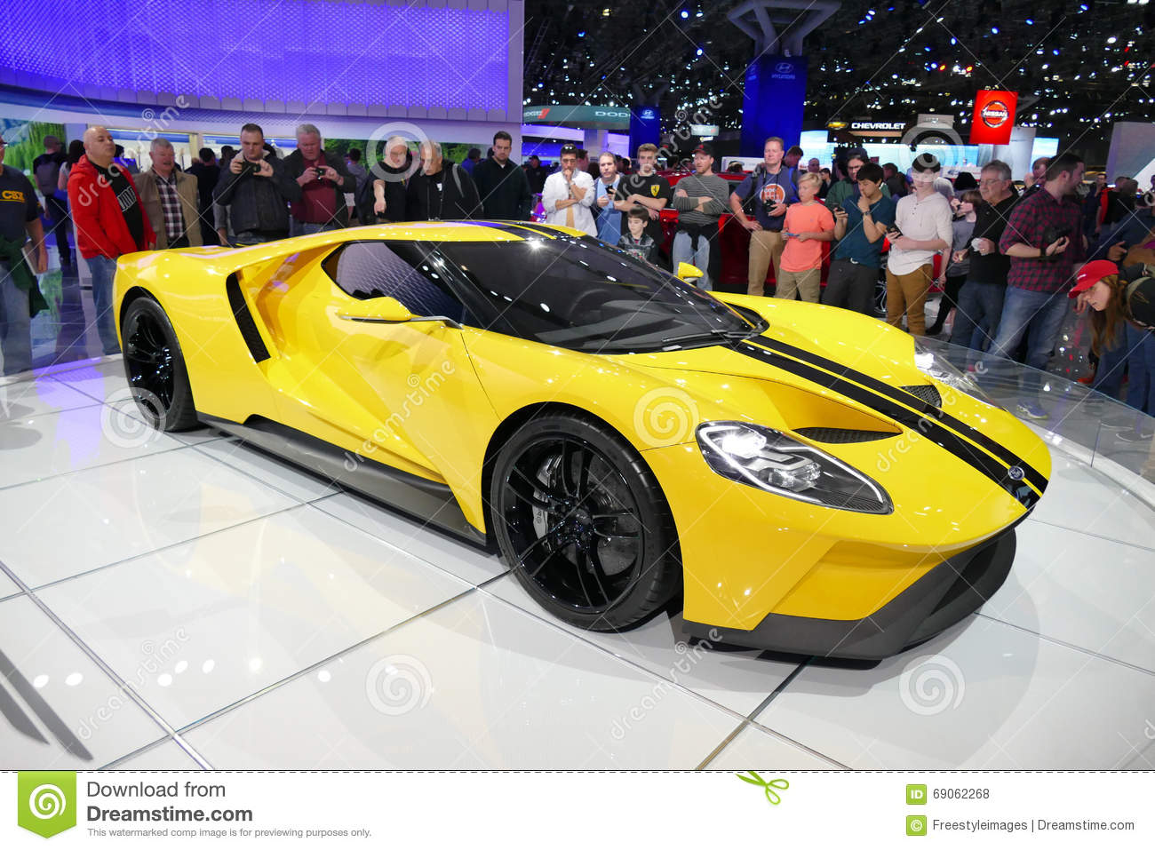 Ford GT Fords Supercar At New York International Auto ShowJPG - Javits car show