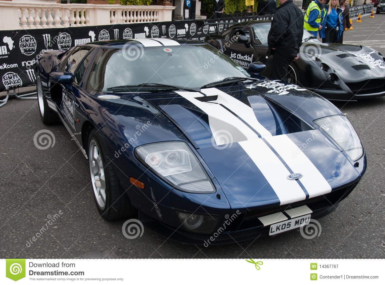 ford gt gumball rally london 2010 editorial photography - Ford Gt 2010