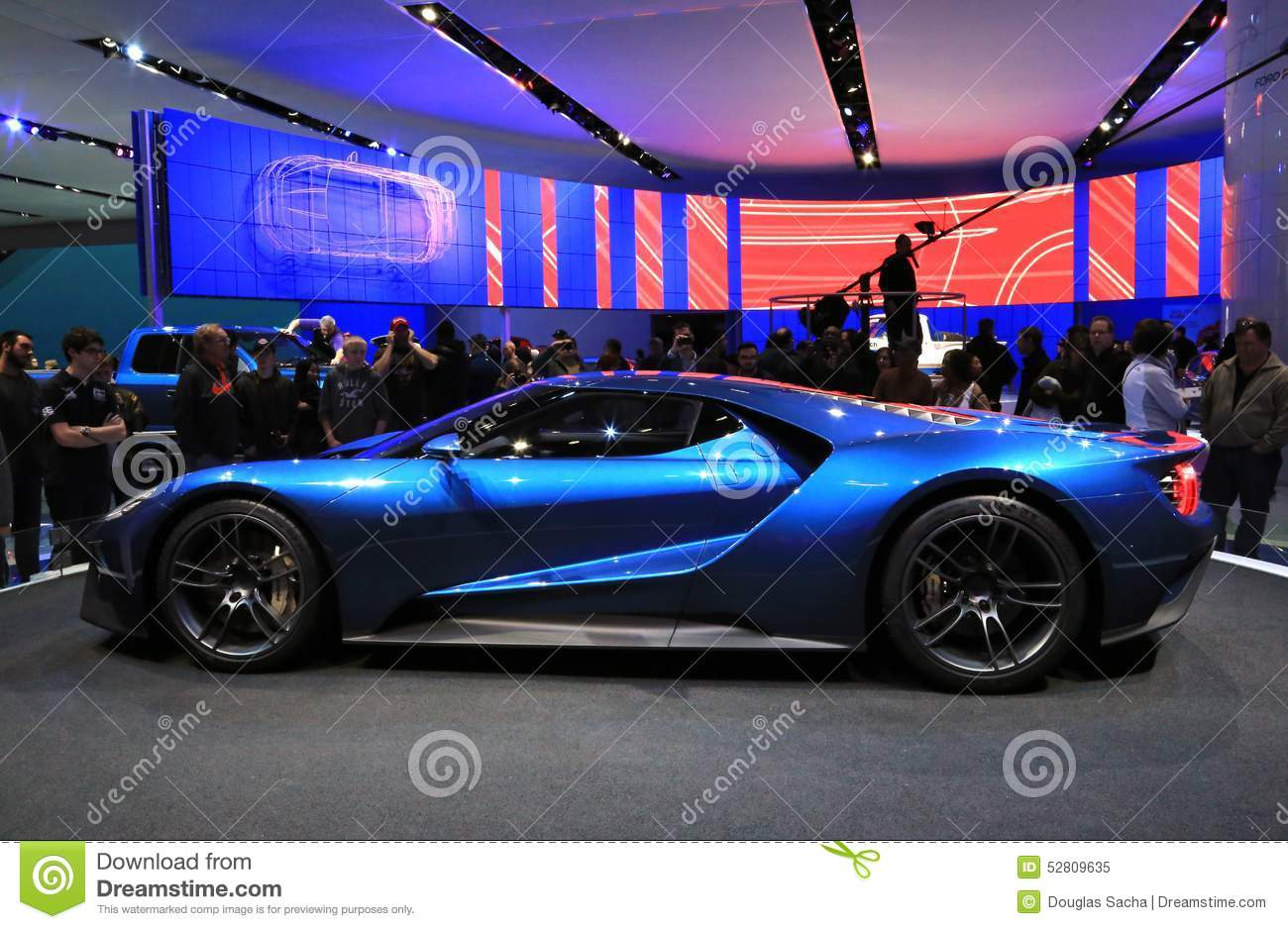 Ford Gt At The Naias