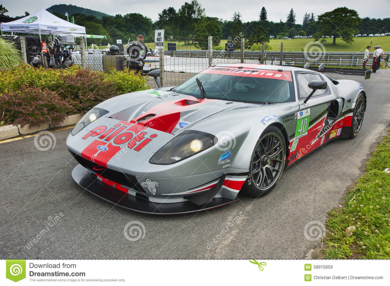Ford Gt40 Race Car Editorial Stock Image Image Of Ford 58915659