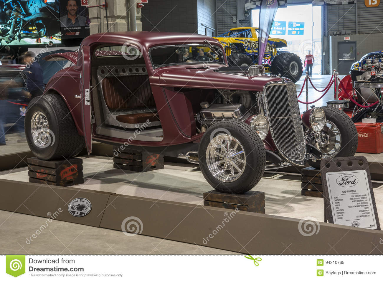 Ford Hot Rod Editorial Image Of Engine Front 94210765 1951 Chevrolet Custom