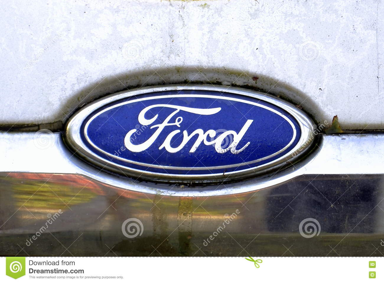 Ford Logo Editorial Image Image Of Construction Transit 77965260