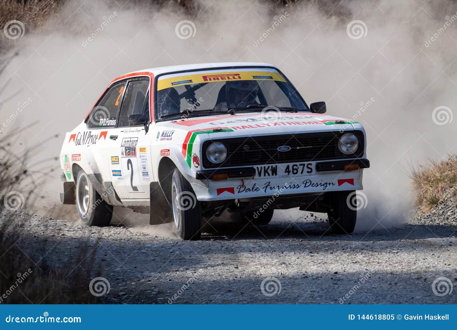 Ford Mkii Escort Rally Car