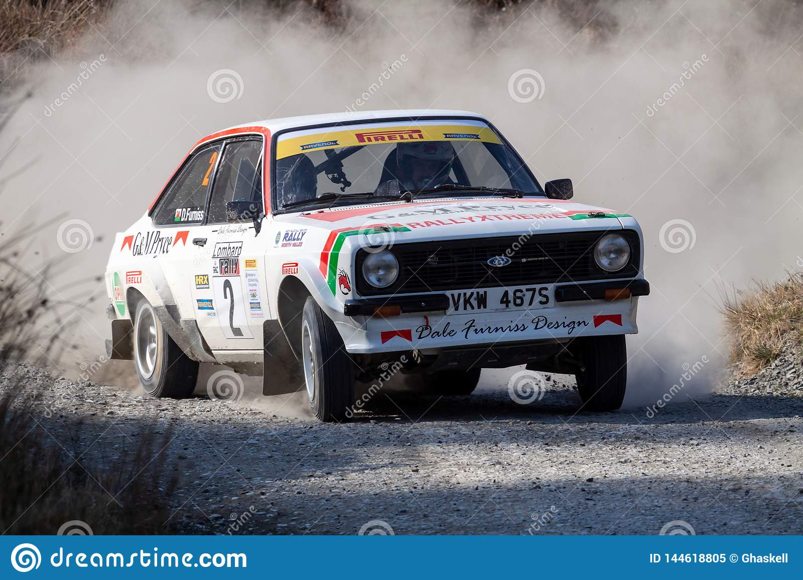 Ford Mkii Escort Rally Car