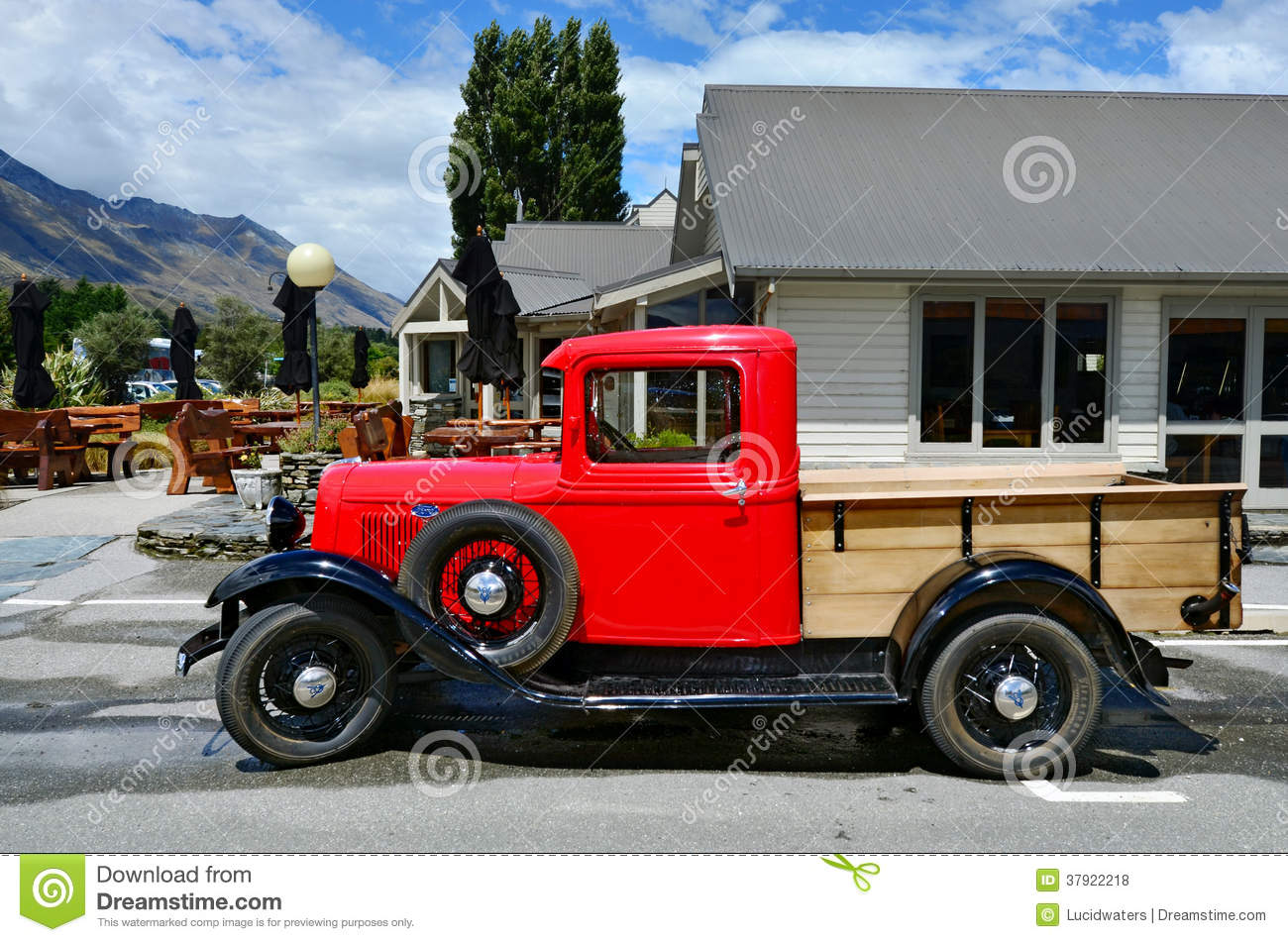 Classic pickup truck vehicle vintage