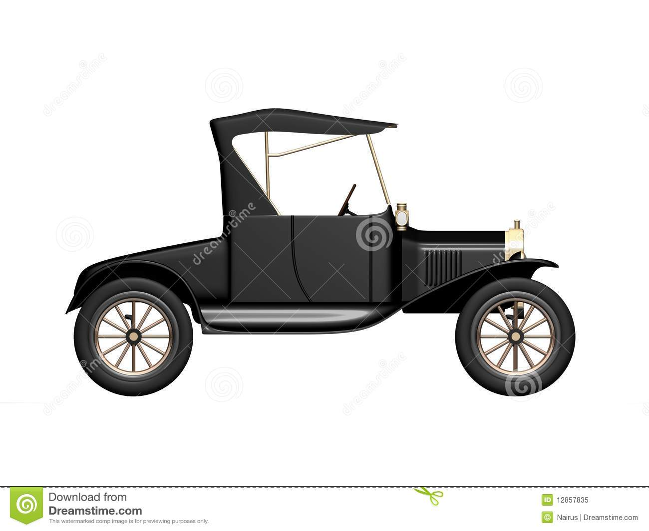 Ford Model T 4 Royalty Free Stock Photo - Image: 12857835