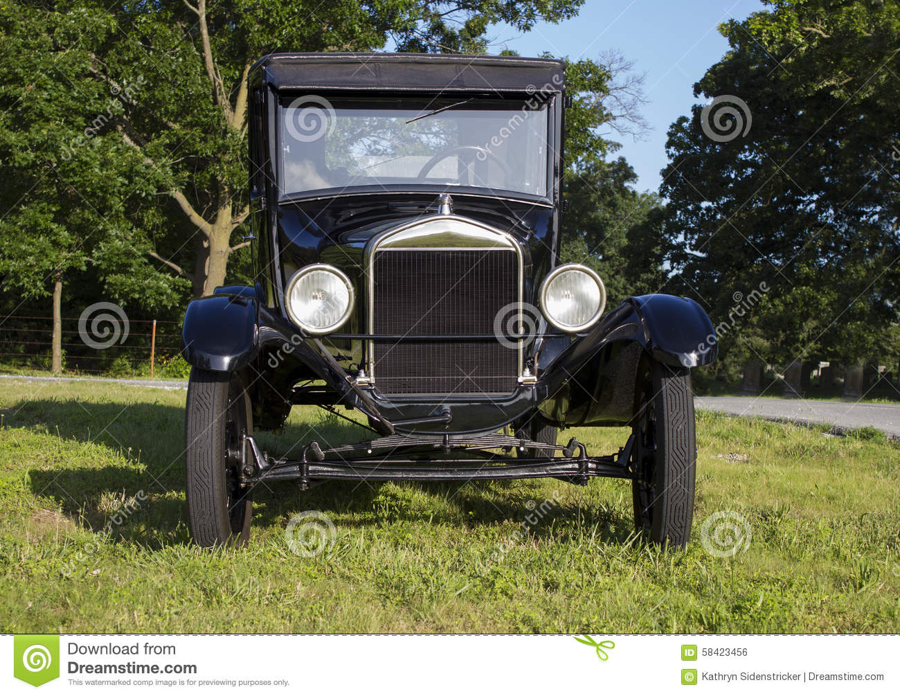 1927 ford model t coupe