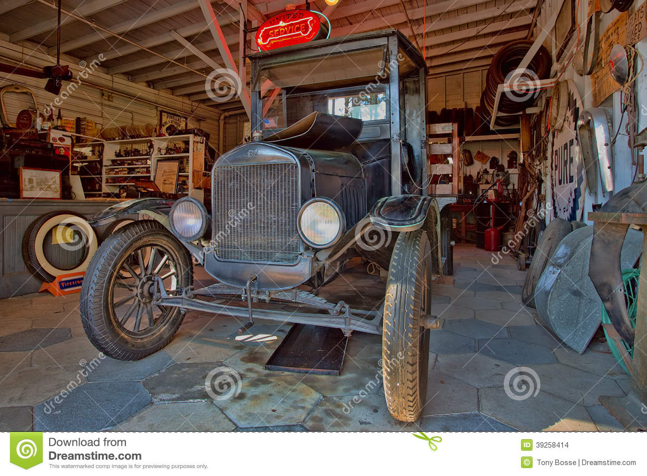 1925 Ford Model Tt Editorial Stock Image Image 39258414
