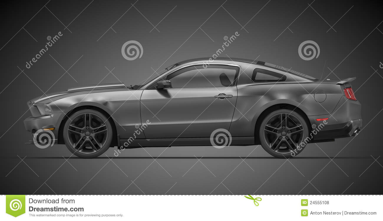 Ford Mustang 2010 Royalty Free Stock Photos Image