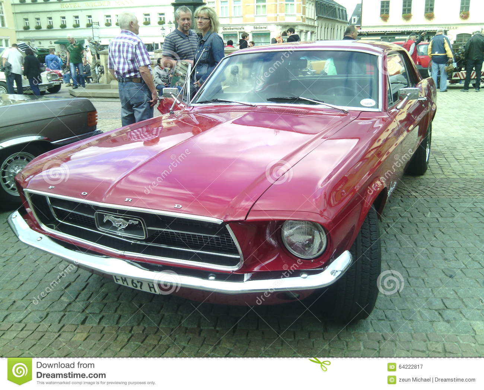 Ford-Mustang ausstellung
