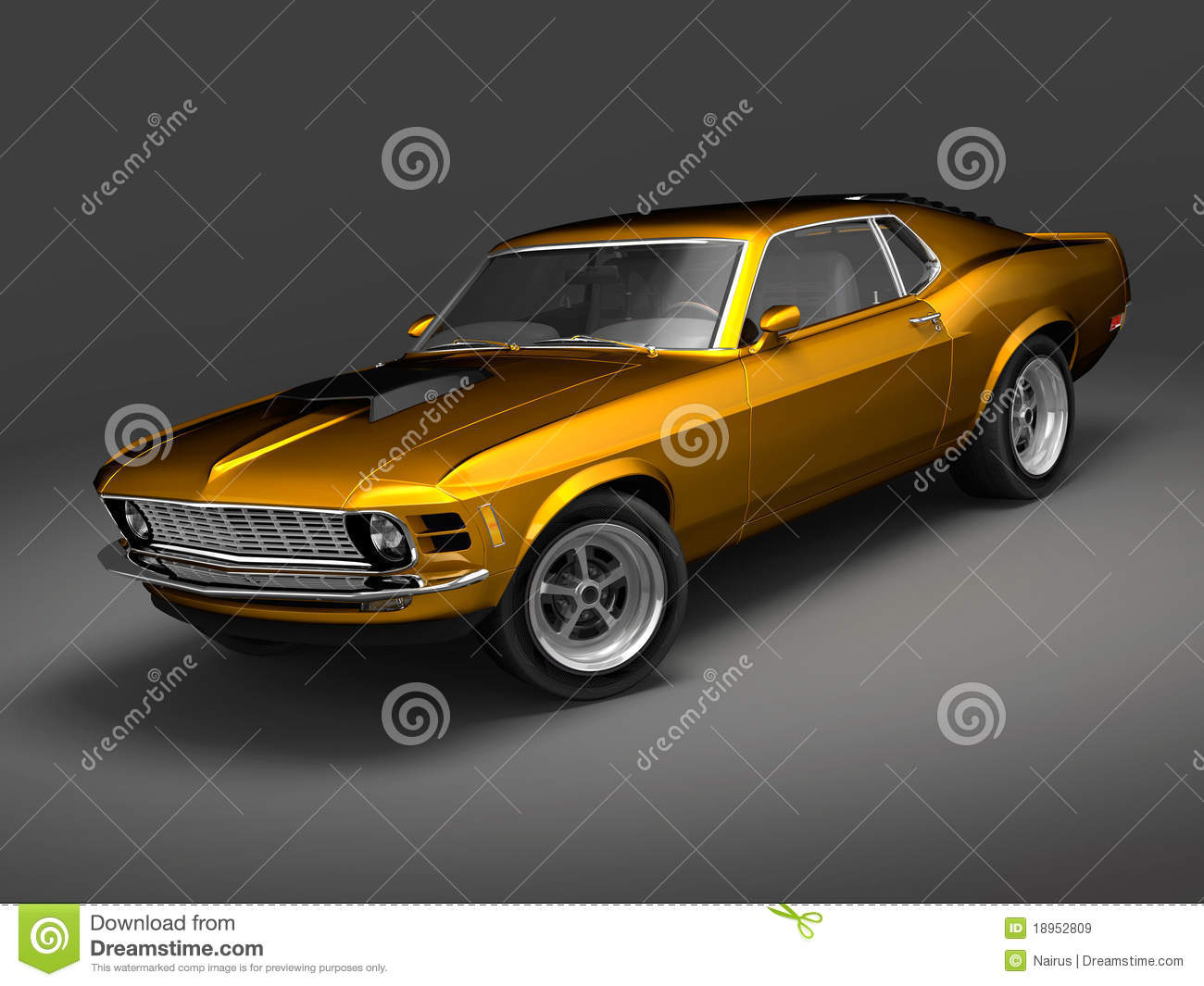 Ford Mustang Boss 1