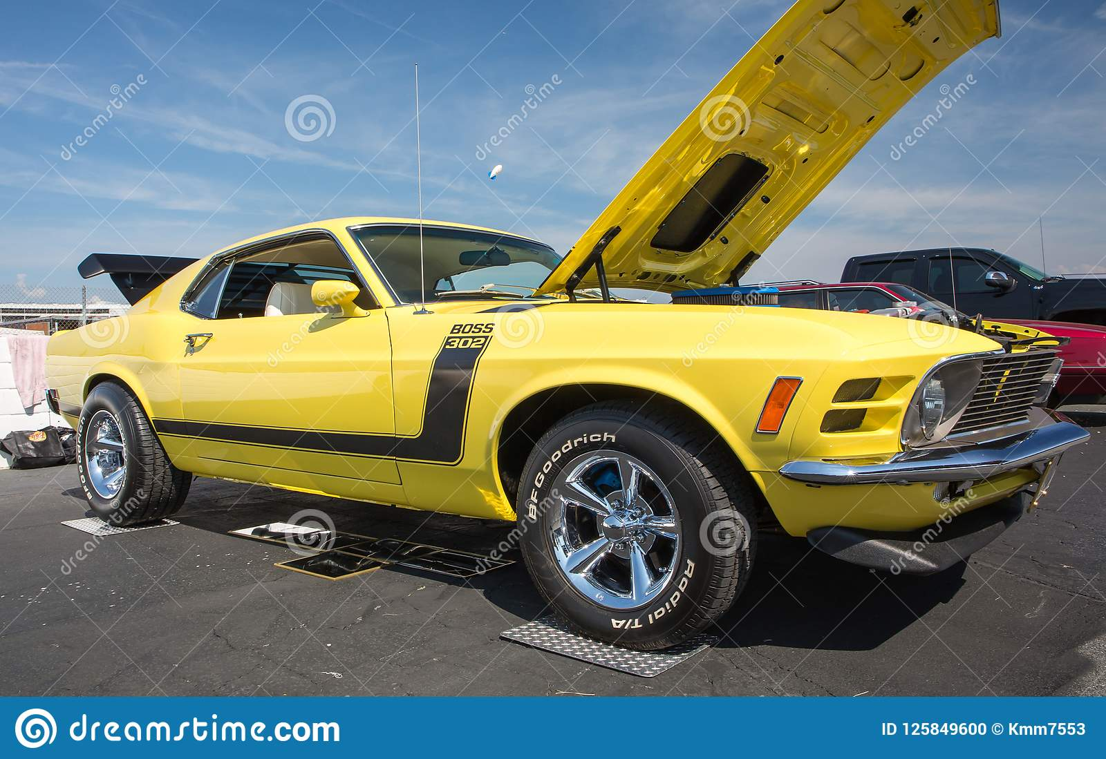 1970 Ford Mustang Boss 302 Editorial Image Of Lights 125849600