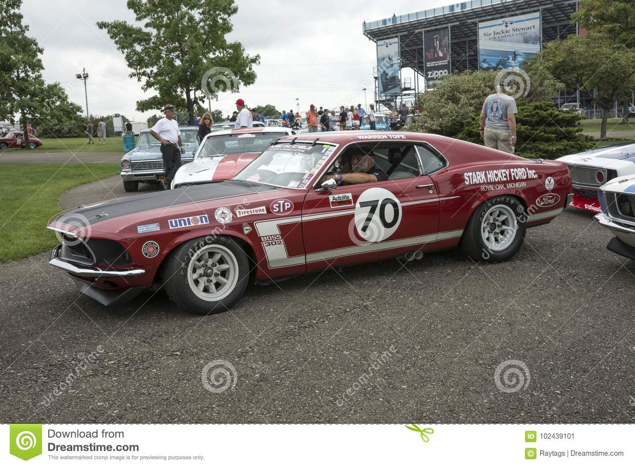 1969 Ford Mustang Boss 302 Race Car Editorial Photo Image Of Download Americana Look