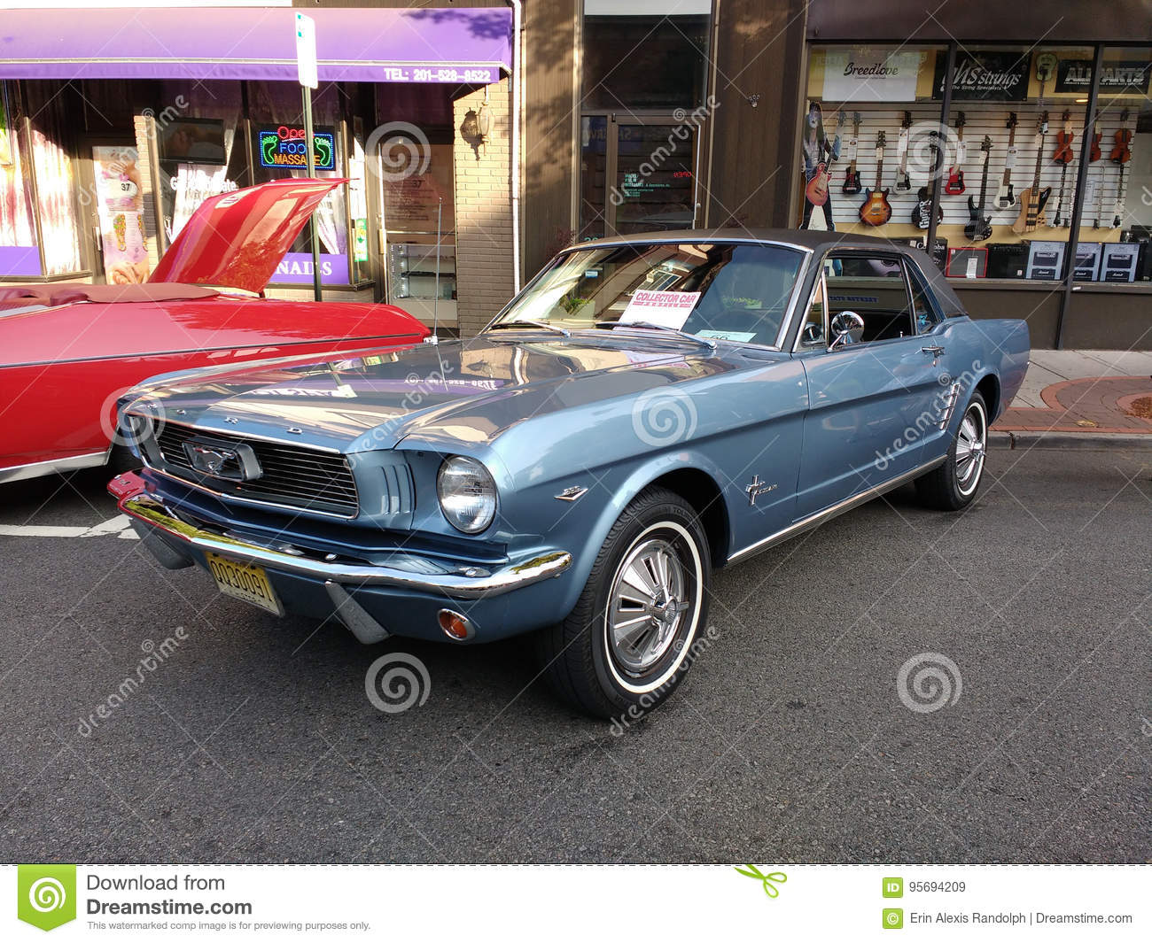 Ford Mustang At A Classic Car Show USA Editorial Stock Image - Car show usa