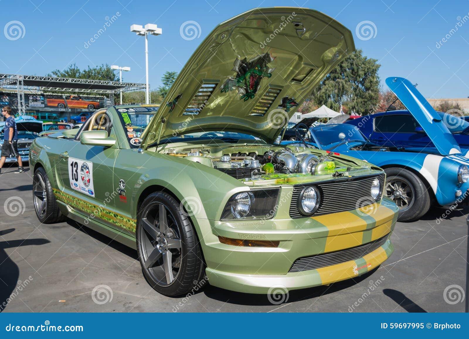 Ford Mustang Custom Editorial Image Image 59697995