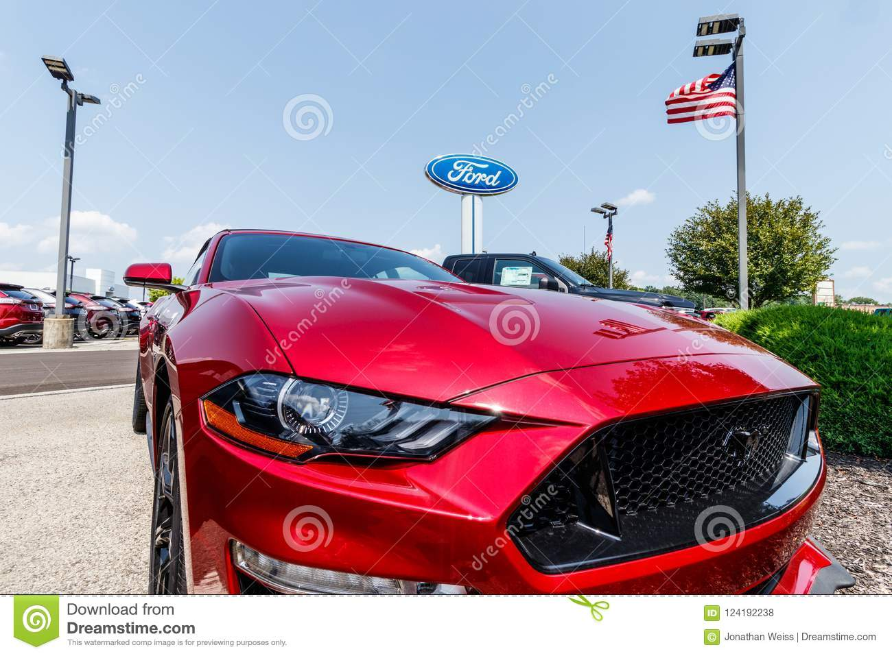 Fishers Circa August 2018 Ford Sells Products Under The Lincoln
