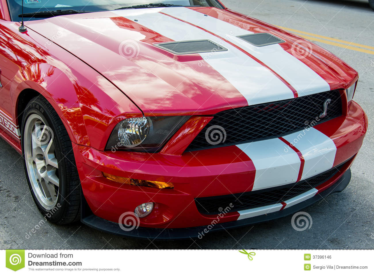 Ford Mustang Gt500 Editorial Photo Image 37396146
