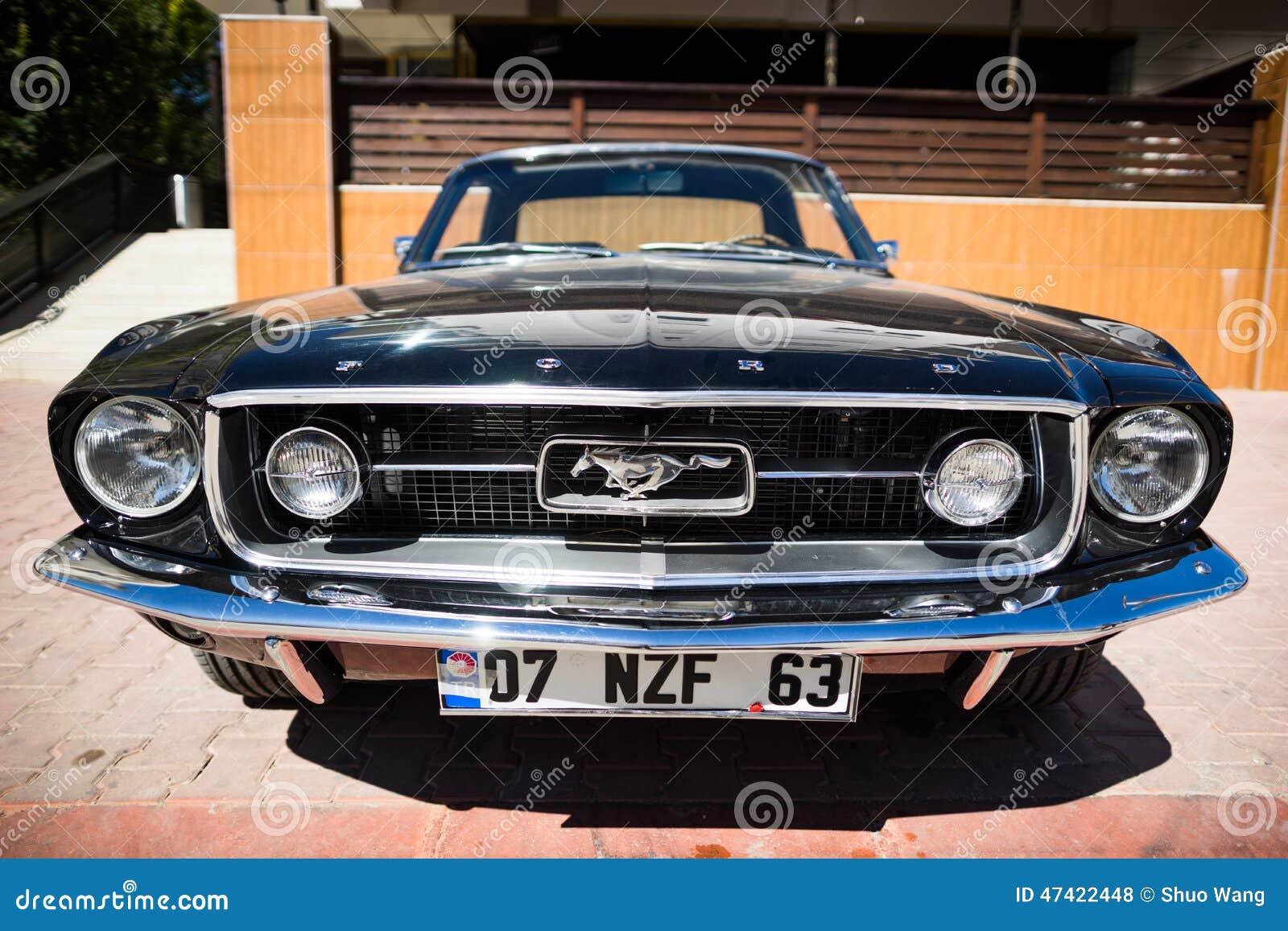 1967 Ford Mustang GT FastbackTurkey