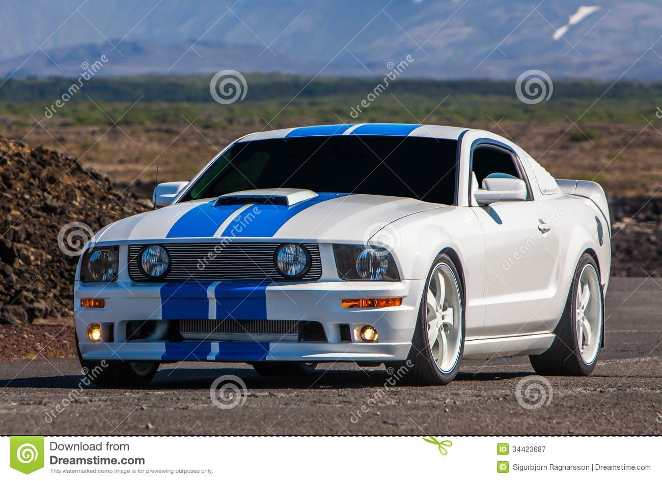 Ford Mustang GT Procharger