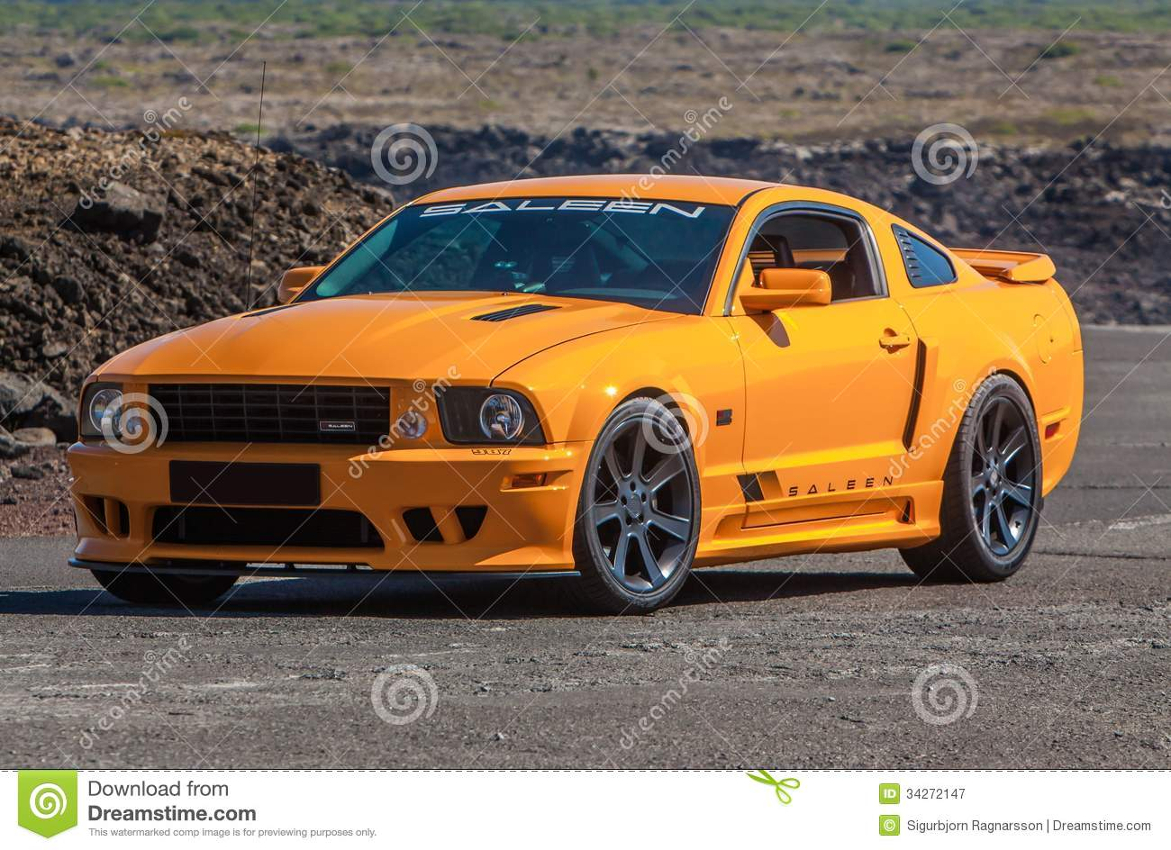 ford mustang gt saleen editorial photography image of. Black Bedroom Furniture Sets. Home Design Ideas