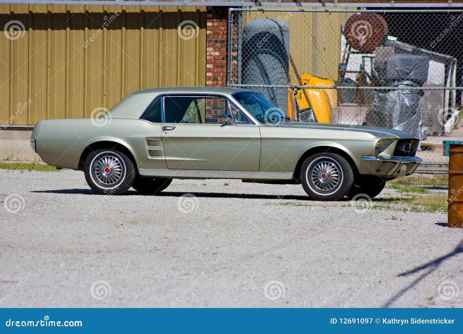 Ford Mustang Kupee 1967 Stockbild Bild Von Glänzend 12691097