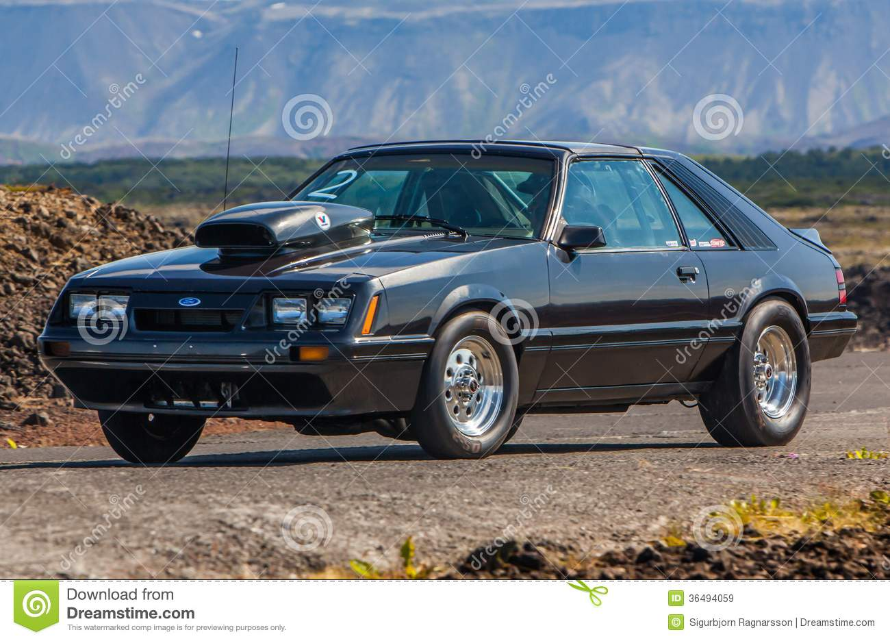 Ford Mustang Lx Editorial Stock Image Image 36494059