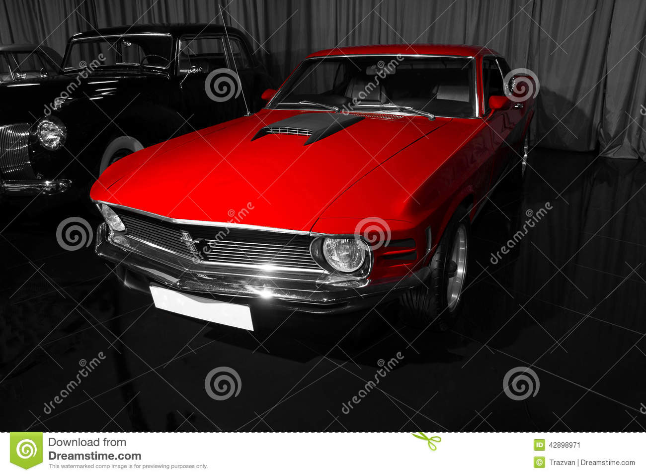 1970 ford mustang mach 1 editorial photo image 42898971. Black Bedroom Furniture Sets. Home Design Ideas