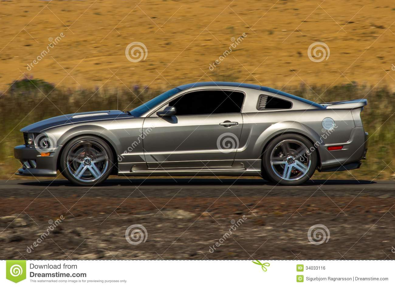 Ford Mustang Saleen Royalty Free Stock Image Image 34033116