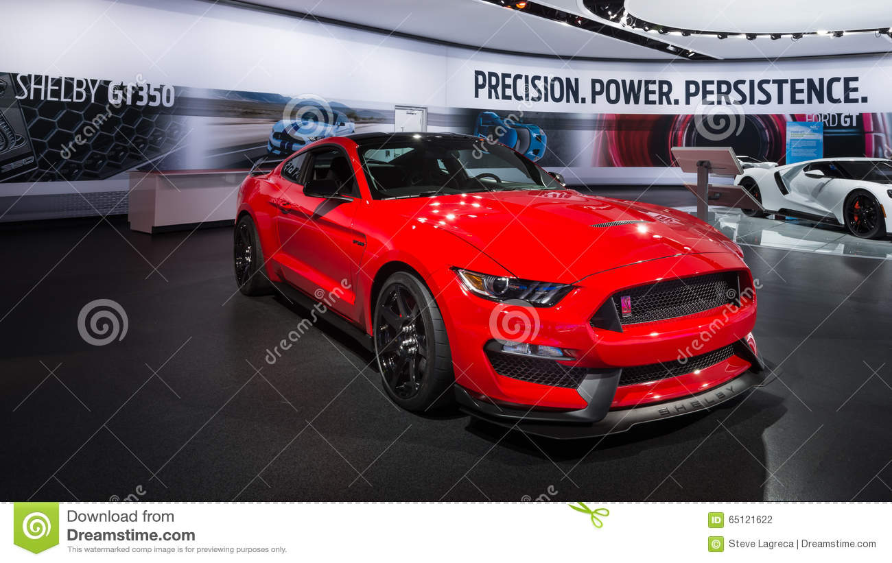 2016 Ford Mustang Shelby Gt350r Editorial Photography
