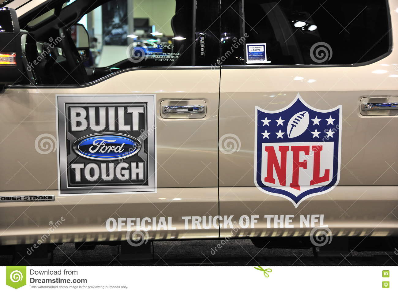 Ford Official Truck do NFL