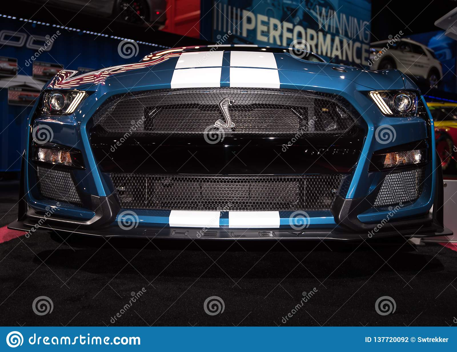 Ford Shelby Cobra Mustang 2020 GT500