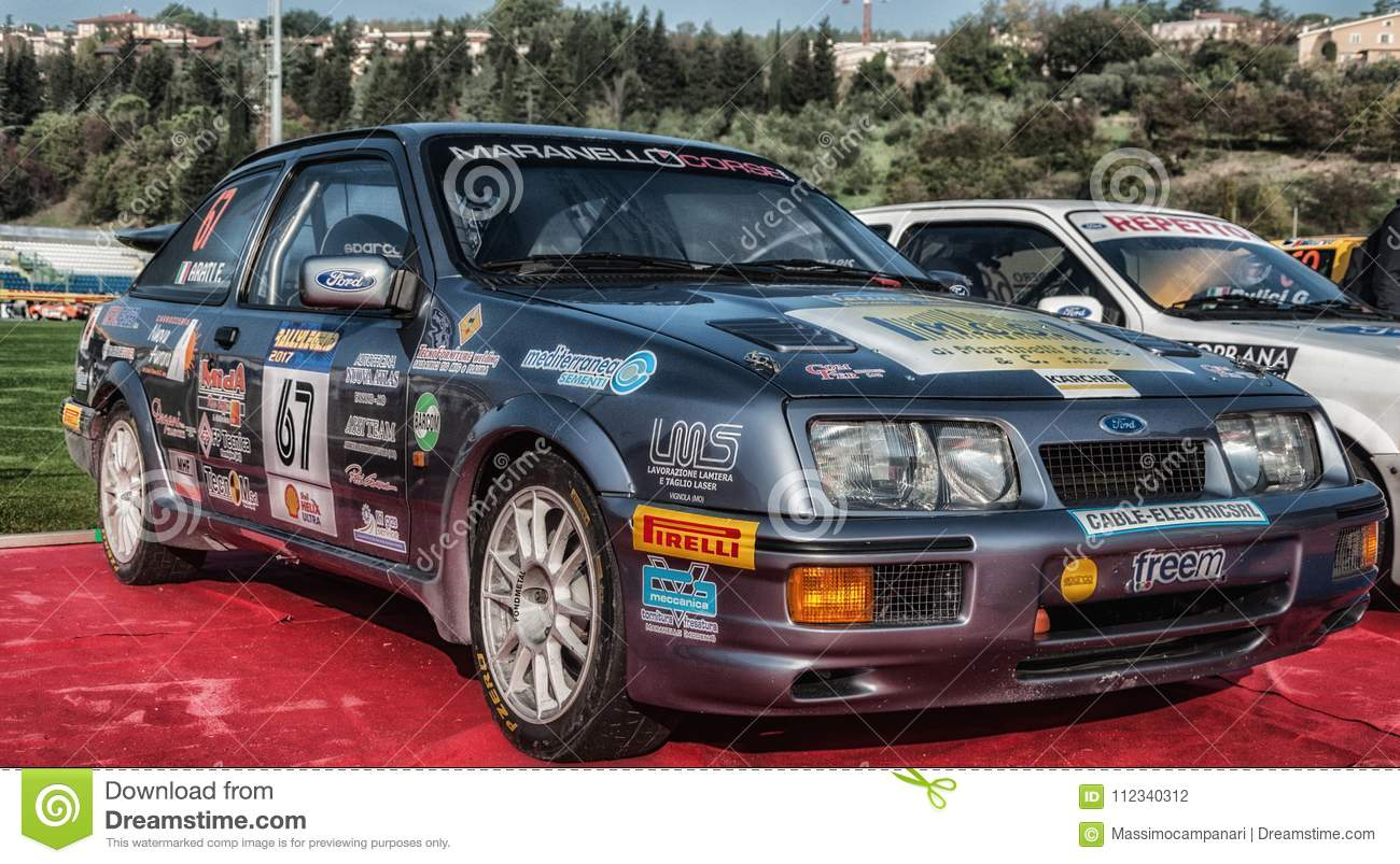 FORD SIERRA Old Racing Car Rally THE LEGEND The Famous SAN - Car rally near me