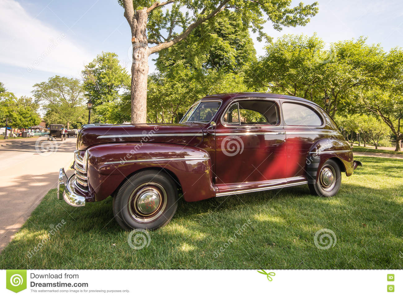 Ford Super Deluxe Editorial Stock Image Image Of Pride - Henry ford car show